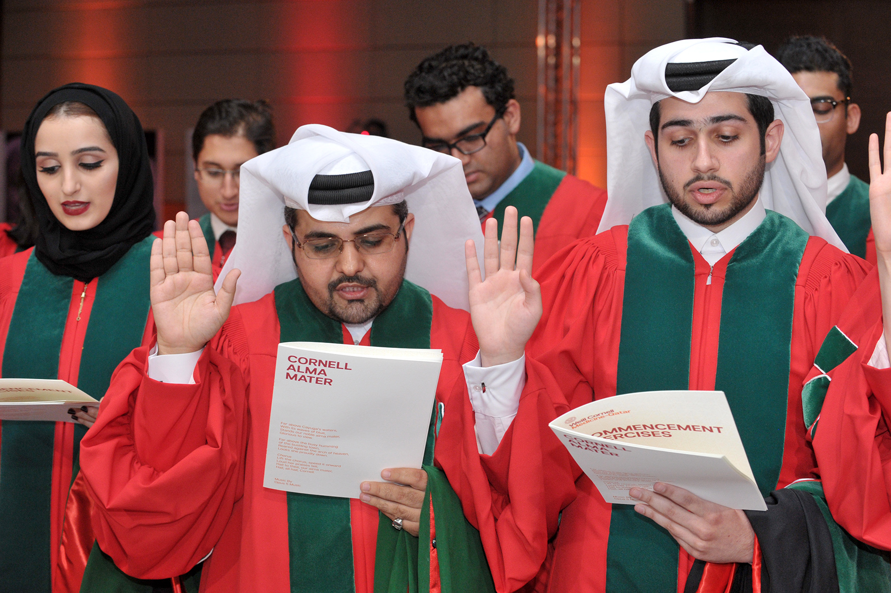 Graduation Ceremony Honors Class of 2016 | Qatar Foundation